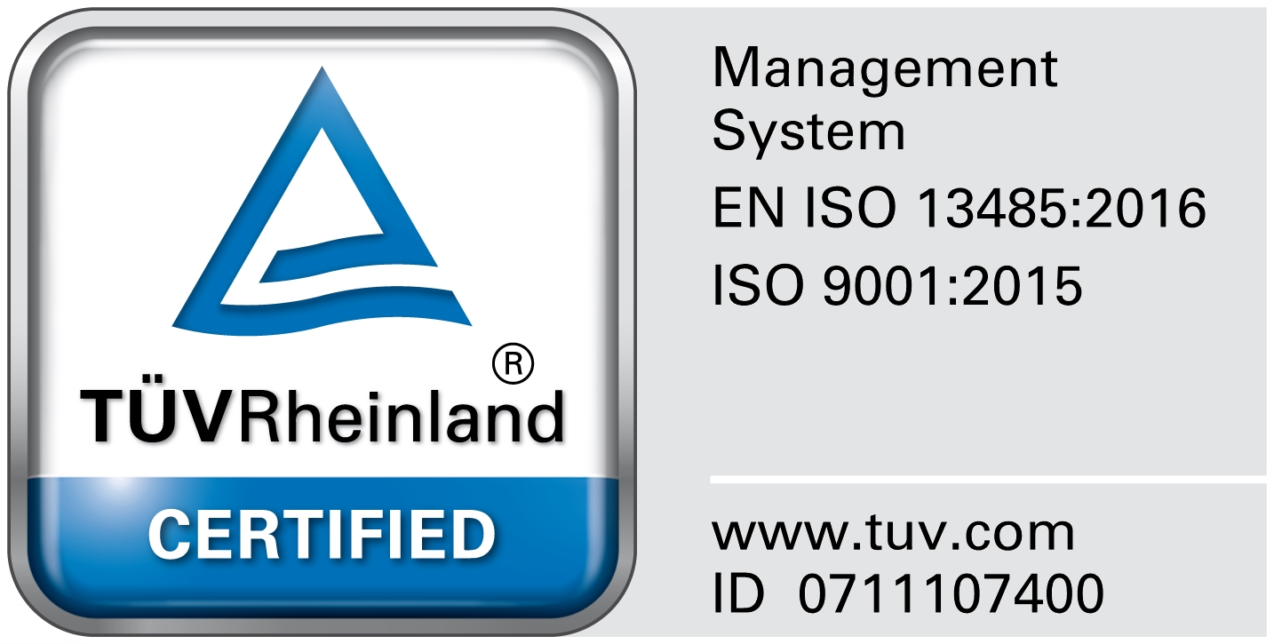 Tuev-certificated